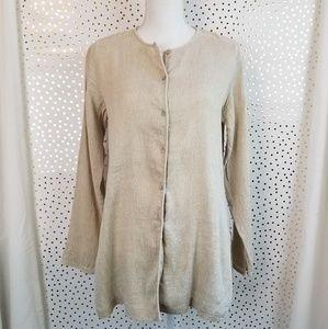 Eileen Fisher Linen Blend Tunic